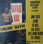 LP / VA ✦ SAVAGE KICK Vol. 11 ✦ 16 Rare Black Rockers from the 50s!!!! . Hear♫